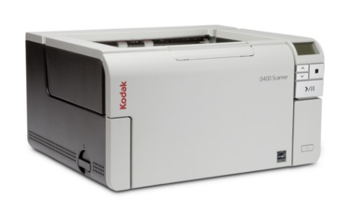 Kodak i3400 Scanner 600 x 600 DPI ADF scanner Black,Grey A3