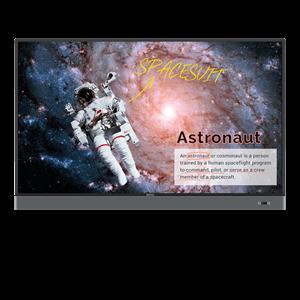 "Benq RM6502K 165.1 cm (65"") LED 4K Ultra HD Touchscreen Interactive flat panel Black"