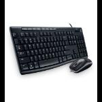 Logitech MK200 USB Negro teclado