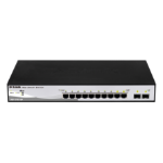 D-Link DGS-1210-10P Unmanaged Power over Ethernet (PoE) 1U network switch