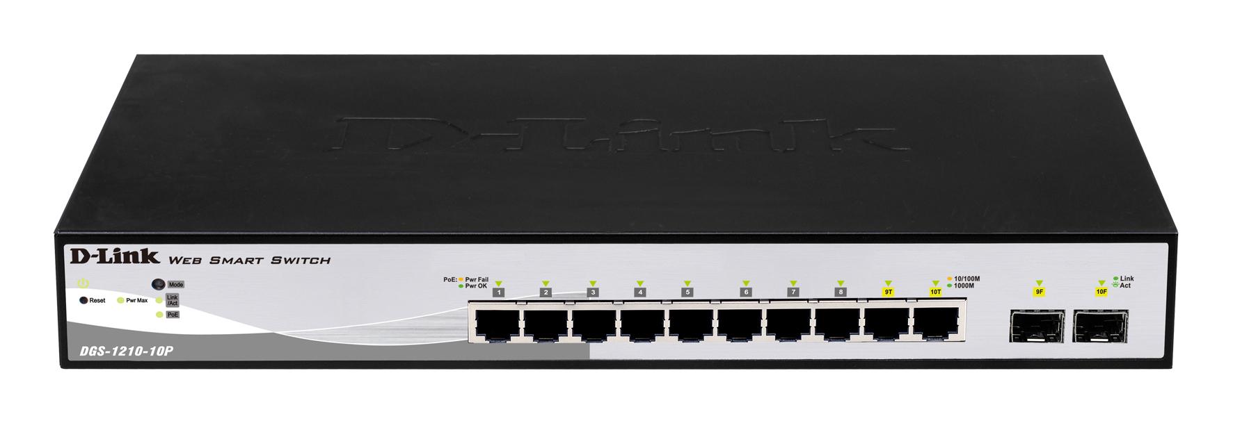 D-Link DGS-1210-10P network switch