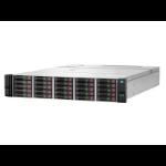 Hewlett Packard Enterprise HPE D3710 Enclosure disk array Rack (2U) Zwart, Zilver