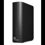 WESTERN DIGITAL WD Elements Desktop 6TB USB 3.0 3.5' External Hard Drive - Black Plug & Play Formatted NTFS for Wind
