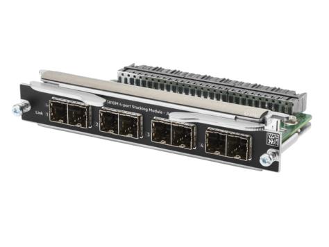 Hewlett Packard Enterprise Aruba 3810M 4-port Stacking Module network switch module