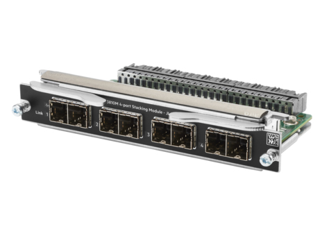 Hewlett Packard Enterprise Aruba 3810M 4-port Stacking Module network switch module