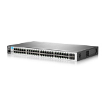 HP E 2530-48G 48 Ports Manageable Ethernet Switch - 2 Layer Supported - 1U High - Rack-mountable, Wall