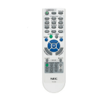 NEC RMT-PJ31 push buttons Grey remote control