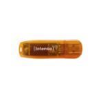 Intenso Rainbow Line USB flash drive 64 GB USB Type-A 2.0 Orange