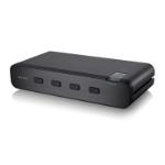 Linksys F1DN104E Black KVM switch