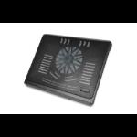 """Ednet 64029 notebook cooling pad 43.9 cm (17.3"""") Black"""
