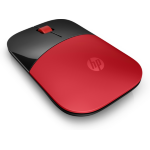 HP Z3700 mice RF Wireless Optical 1200 DPI Ambidextrous Red