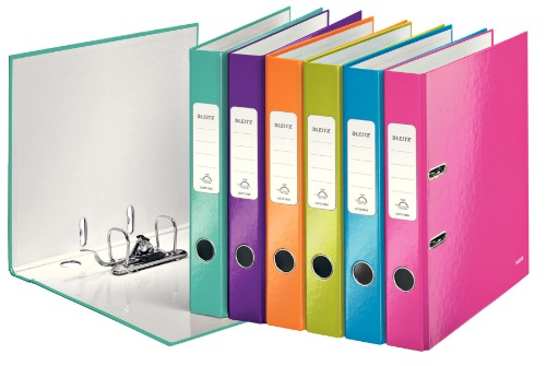 Leitz WOW ring binder A4 Multicolor