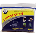 AF Laptop-Clene - Wet/Dry sachets disinfecting wipes