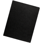 Fellowes 52115 binding cover Black