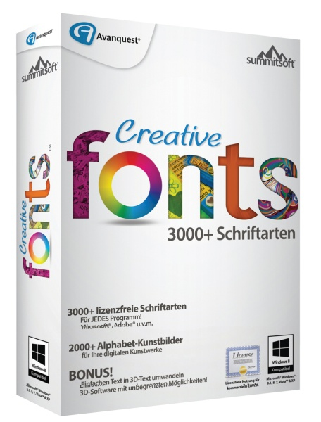 Avanquest Creative Fonts 5