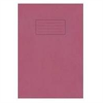 Silvine Exercise Book Ruled and Margin 80 Pages A4 Red Ref EX107 [Pack 10]