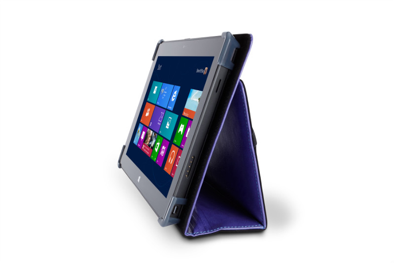 Maroo microsoft surface pro kope leather folio cover case purple