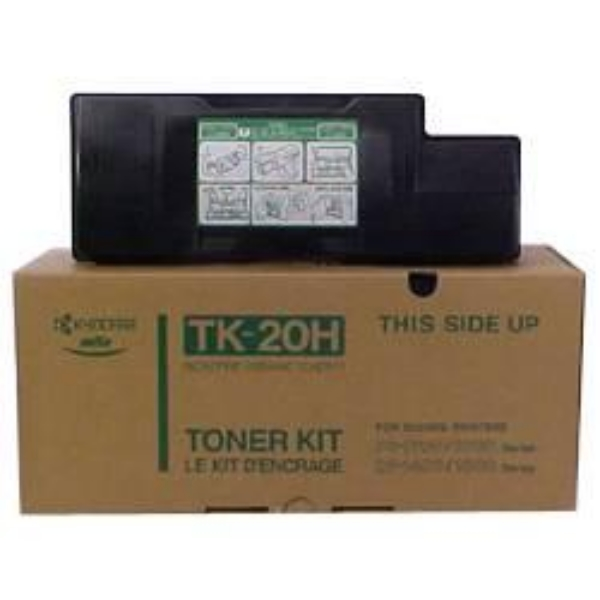 Kyocera 37027020 (TK-20 H) Toner black, 20K pages @ 5% coverage