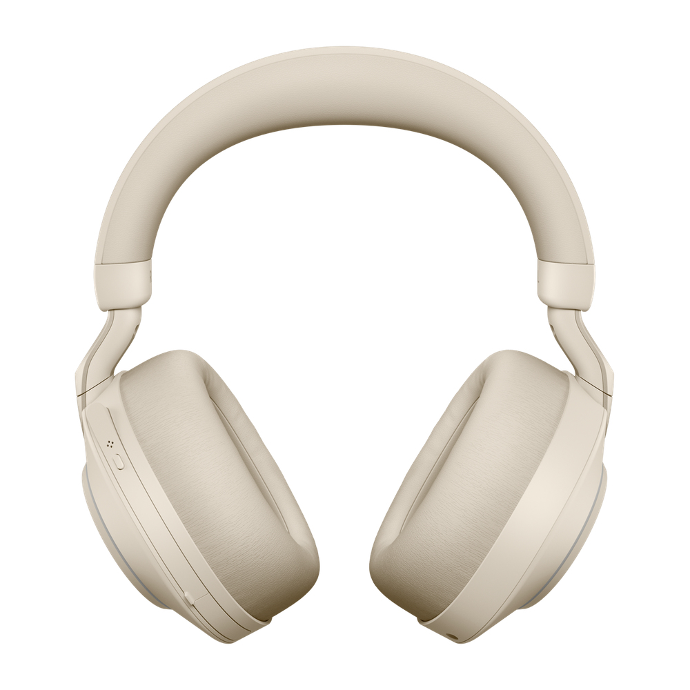 Jabra Evolve2 85, MS Stereo Headset Head-band Beige