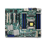 Supermicro X9SRH-7F Intel C602J LGA 2011 (Socket R) ATX server/workstation motherboard