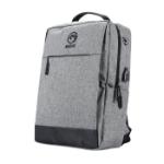 Marvo BA-03 backpack Casual backpack Grey Fabric BA-03GY