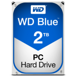 Western Digital Blue internal hard drive HDD 2000 GB Serial ATA III