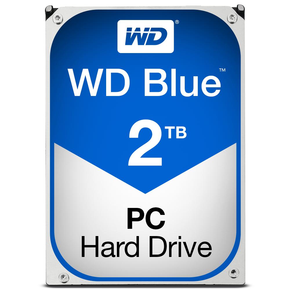 Western Digital Blue internal hard drive HDD 2000 GB Serial ATA III