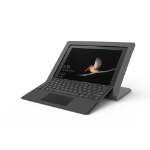 """Kensington WindFall Stand for Surface Go tablet security enclosure 10"""" Black"""