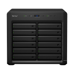 Synology DX1215 disk array 48 TB Desktop Black