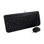 V7 CKU300ES toetsenbord USB QWERTY Spaans Zwart