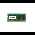 Crucial 8GB DDR3-1600 memory module 1600 MHz ECC