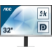 "AOC Essential-line U3277FWQ pantalla para PC 80 cm (31.5"") 3840 x 2160 Pixeles 4K Ultra HD LED Negro, Plata"