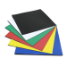 Nobo Magnetic Squares 150x150mm Assorted Colours (6)