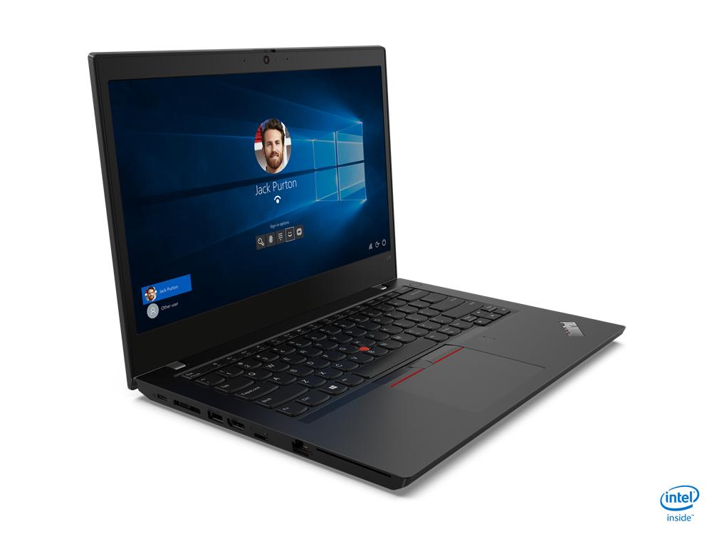 """Lenovo ThinkPad L14 DDR4-SDRAM Notebook 35.6 cm (14"""") 1920 x 1080 pixels 10th gen Intel-� Core��� i5 8 GB 256 GB SSD Wi-Fi 6 (802.11ax) Windows 10 Pro Black"""