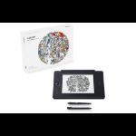 Wacom Intuos Pro Paper Edition M South tableta digitalizadora 5080 líneas por pulgada 224 x 148 mm USB/Bluetooth Negro