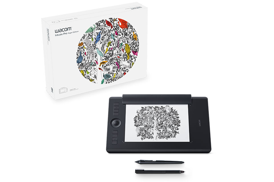 Wacom Intuos Pro Paper Edition M South tableta digitalizadora 5080 líneas por pulgada 224 x 148 mm USB/Bluetooth Negro