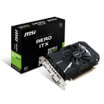 MSI V809-2456R GeForce GTX 1050 2GB GDDR5 graphics card