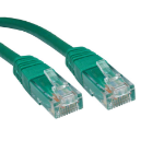 Cables Direct ERT-600G 0.5m Cat6 U/UTP (UTP) Green networking cable