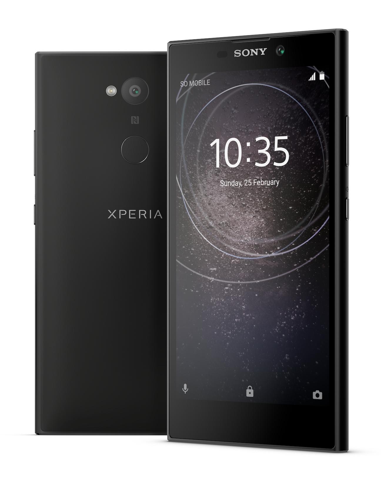 """Sony Xperia L2 5.5"""" 4G 3GB 32GB 3300mAh Black 1312-2042"""