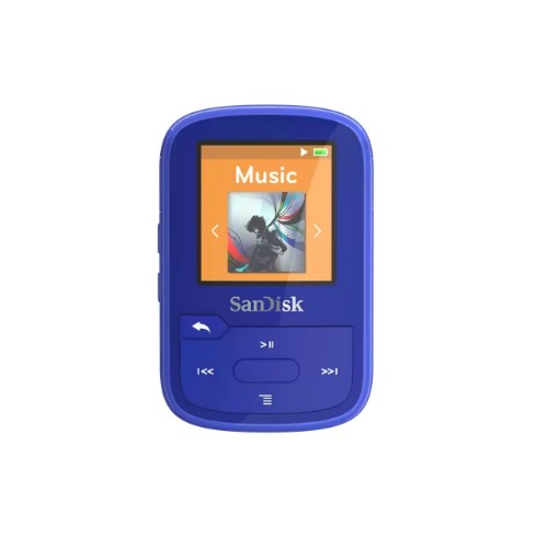 SanDisk Clip Sport Plus MP3 player 32 GB Blue