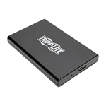 Tripp Lite USB 3.0 SuperSpeed External 2.5 in. SATA Hard Drive Enclosure with Built-In Cable and UASP Support