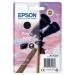 Epson C13T02V14010 (502) Ink cartridge black, 210 pages, 5ml