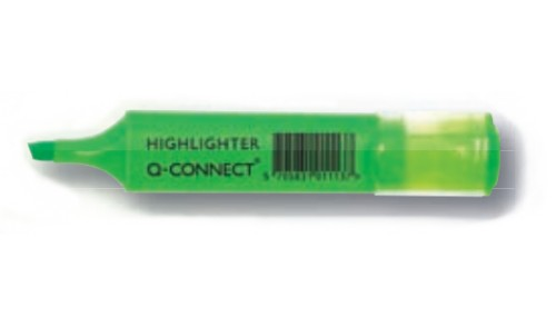 Q-CONNECT KF01113 felt pen Fine/Medium Green 10 pc(s)