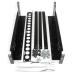 "StarTech.com 3U Fixed 19"" Adjustable Depth Universal Server Rack Rails UNIRAILS3U"