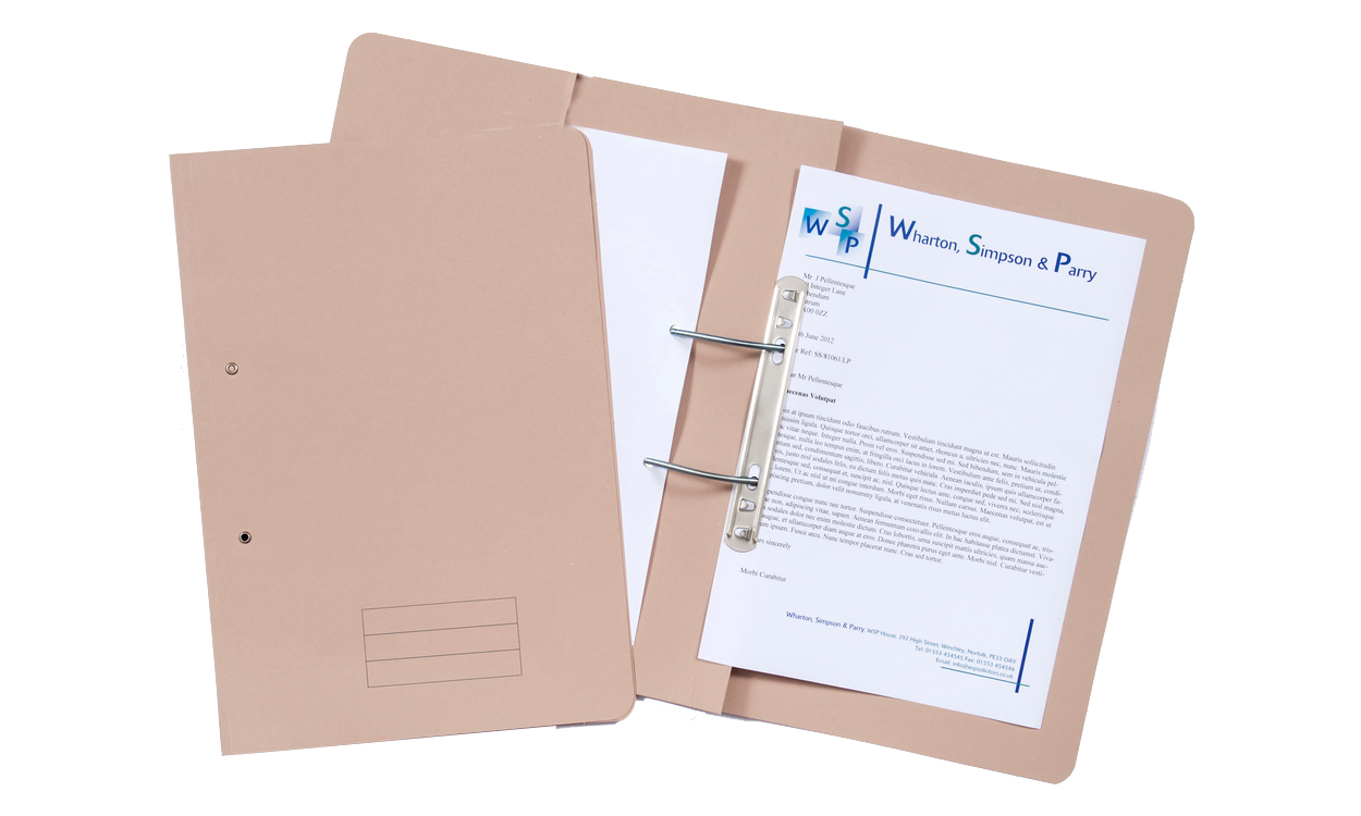 Exacompta Value Transfer File Foolscap Buff TFM-BUFZ - (PK25)