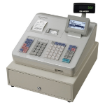 Sharp XE-A307 cash register 10000 PLUs LCD