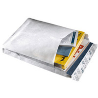 Tyvek Gusseted Envelopes Extra Capacity Strong E4 H406xW305xD50mm White Ref 11846 [Pack 100]