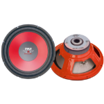 Pyle PLW15RD Passive subwoofer Red subwoofer