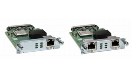 Cisco NIM-2FXO= voice network module FXO