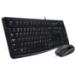 Logitech MK120 teclado USB QWERTY Español Negro